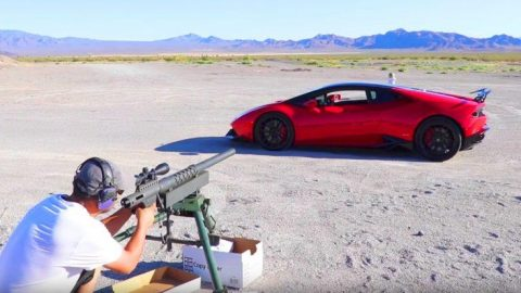 A 20 MM Gun, A $200,000 Lamborghini And A Watermelon – What Could Possibly Go Wrong? | Frontline Videos