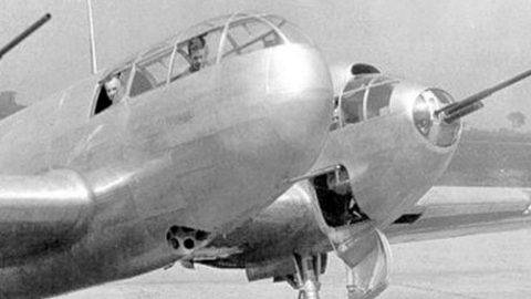 Biggest Interceptor Of WWII – How Did They Even Think Up This Design? | Frontline Videos