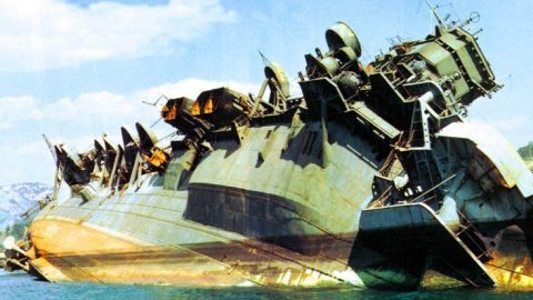 Wreckage Of Japan's Colossal Aircraft Carrier After A Savage American Bombing   Frontline Videos
