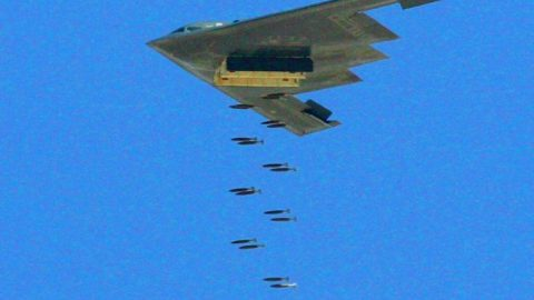 B-2 Spirit Unleashes Its Entire Payload – They Just Keep Going And Going | Frontline Videos
