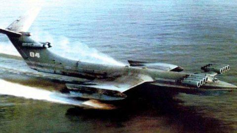 Russia's Top Secret Cold War Jet – Caspian Sea Monster | Frontline Videos