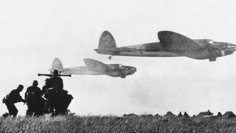 Luftwaffe Fighters Gunning Down Allied Bombers – Desperate Bid For Victory | Frontline Videos