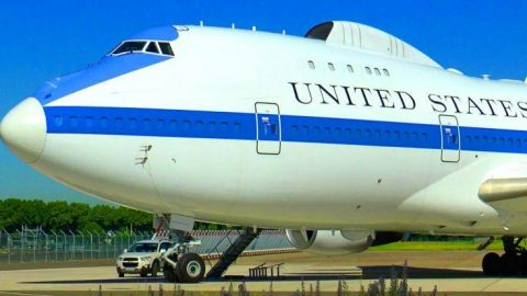 In The Event Of Nuclear War The President S Doomsday Plane Will Be