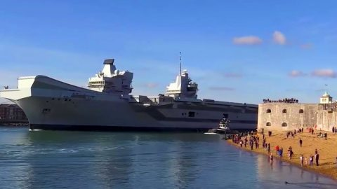 First Look Inside The Royal Navy's Biggest Carrier – No One Was Expecting This | Frontline Videos