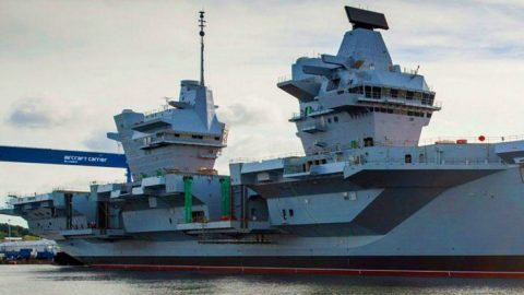 After Years Of Construction Britain's Biggest Warship Is Ready For Action | Frontline Videos