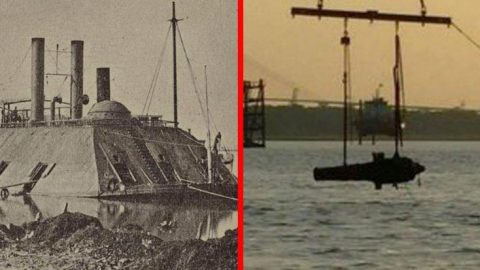 US Navy Raises Gigantic 150-Year-Old Confederate Battleship From Sunken Grave | Frontline Videos