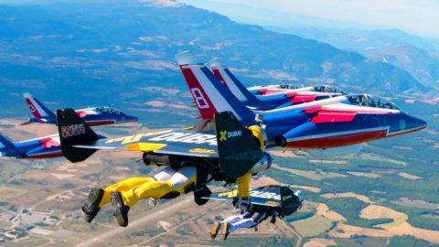 Jetpack Daredevils Race With Fighter Jets | Frontline Videos