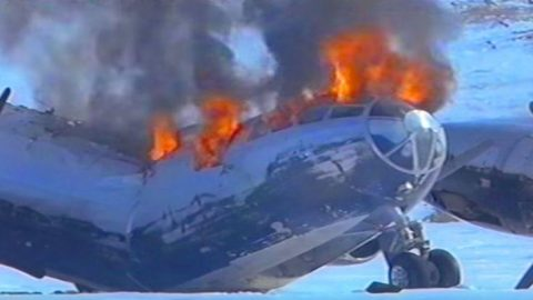 Priceless B-29 Frozen Ice For 50 Years Explodes During Takeoff   Frontline Videos