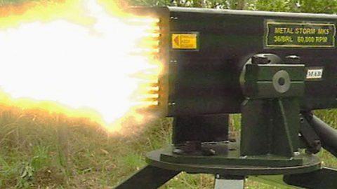 World's Fastest Gun Blasts Over 1 Million Rounds Per Minute – Extreme Overkill   Frontline Videos