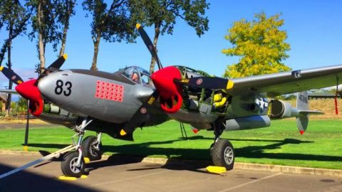 P-38 Powerhouse Engines Hit 2600 RPM – The Damn Trees Are Shaking! | Frontline Videos