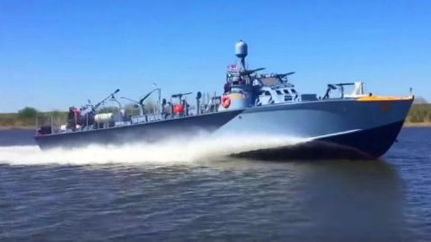 World's Only Patrol Torpedo Boat Restored To Life – It Has Some Killer Speed | Frontline Videos