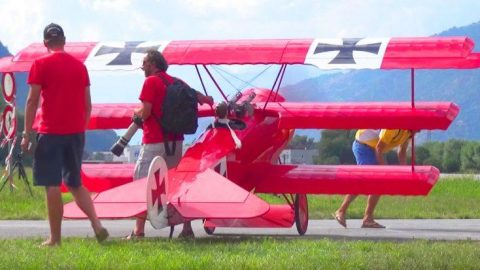 World's Biggest RC Fokker Dr.I Has Some Serious Moves – Don't Let The Size Fool You | Frontline Videos