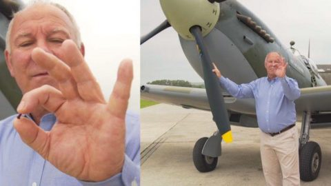 Given A Single Spitfire Rivet On A Dare – 14 Years Later He Leaves Them Speechless | Frontline Videos