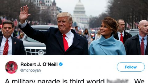 Navy Seal Who Killed Osama Bin Laden Has Some Harsh Words About Trump's Military Parade   Frontline Videos