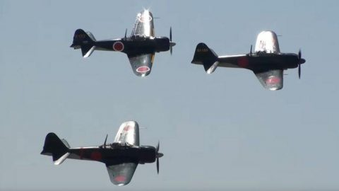 A6M Zeros United – You Won't Be Seeing Anything Like This Again | Frontline Videos