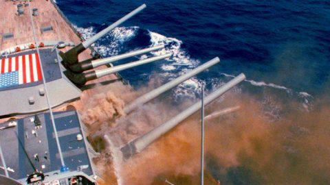 Declassified Film Of The USS Iowa's Horrific Turret Explosion – Absolutely Terrifying | Frontline Videos