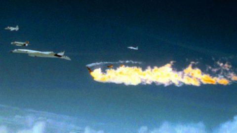 Film Of The Legendary XB-70'S Horrific Midair Collision | Frontline Videos