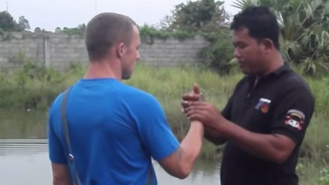 Man Goes To Cambodia To Throw A Sketchy Grenade-Definitely Gets What He Paid For | Frontline Videos