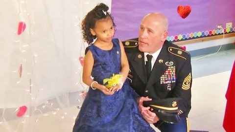 Soldier Takes Girl To Father-Daughter Event After Her Army Dad Was Killed | Frontline Videos