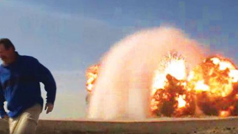 Defense Contractors Detonate 100 Tons Of Kablooie Then Have To Dodge Ricochet | Frontline Videos