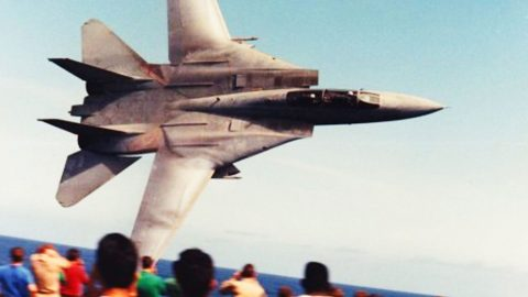 We Finally Found The Actual Video Behind This Iconic F-14 Tomcat Photo | Frontline Videos
