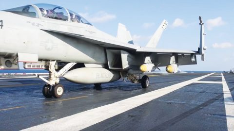 Do You Feel The Need For Speed? Watch This Up Close F/A-18F Launch | Frontline Videos