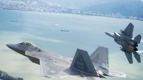 USAF Tests 1 Raptor Against 5 F-15s–Shuts Up Critics | Frontline Videos