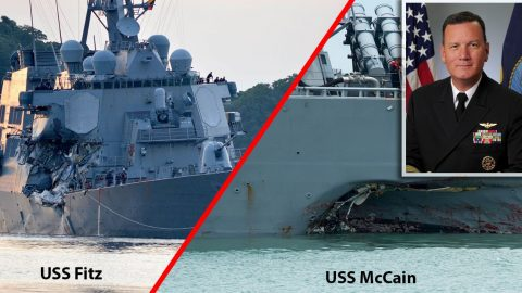 Last Year's Two Deadly Navy Collisions Leave Five Facing Homicide | Frontline Videos