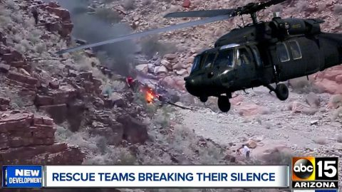 USAF Rescuers Of Deadly Grand Canyon Crash Say It Was Harder Than Iraq | Frontline Videos