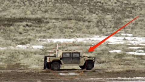 This Humvee Gets Wrecked By An A-10 Warthog: Finally We Get To See It | Frontline Videos