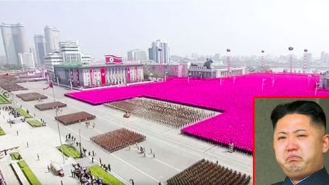 N.Korea's Show Of Force Military Parade Synched To 70's Disco-This Will Make Your Day | Frontline Videos