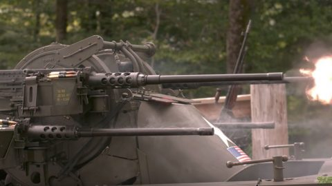 Watching Guns Fire In Slow Motion Is Oddly Relaxing | Frontline Videos