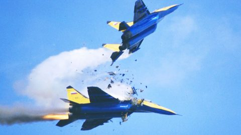 A Midair Collision Was Caught Live With A Miraculous Outcome | Frontline Videos