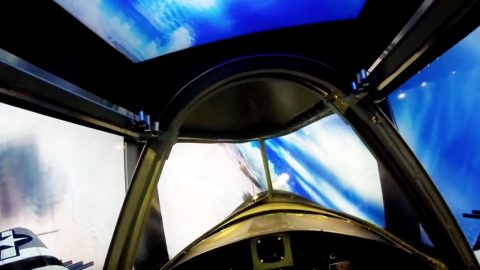 This Homebuilt P-47 Simulator Is Something You'll Want Immediately | Frontline Videos