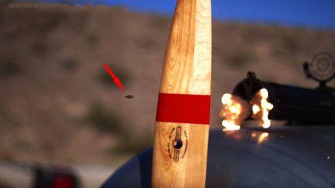 Mind Blowing Slo-Mo Footage Of Bullets Slashing Propellers Blades   Frontline Videos