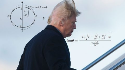 Video Of Trump Boarding Air Force One Finally Reveals How His Hair Works | Frontline Videos