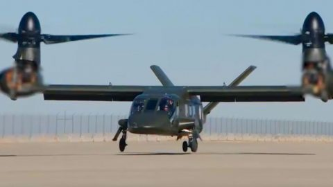 V-280 Valor Finally Takes Off For The First Time But What's With That Blur On The Tilt Rotors? | Frontline Videos