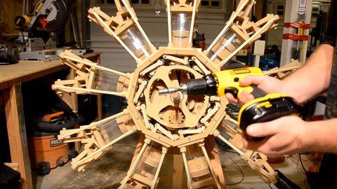 Carpenter Builds A Wooden WWII Radial – And It Works Too | Frontline Videos