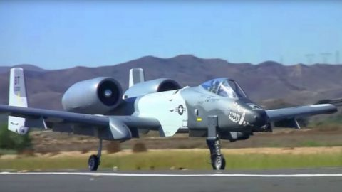 Giant RC A-10 Warthog's Engine Sounds Like A Damn Chainsaw | Frontline Videos