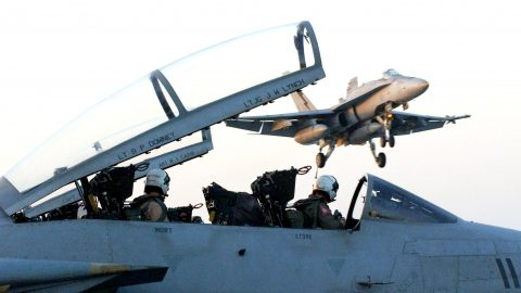 Passenger Of F-14 Gets Confused, Grabs Handle While Inverted | Frontline Videos