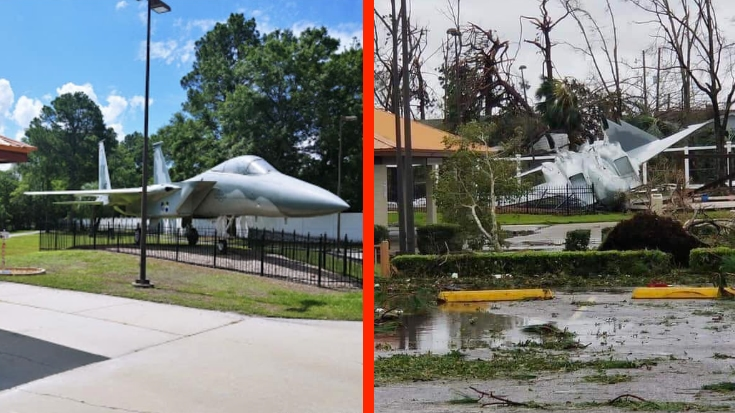Tyndall air force base takes direct hit from hurricane for Tyndall afb alloggio cabine