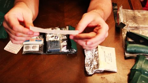 Ever Wonder What's In A Navy Aviators Survival Kit? Well, Here You Go. | Frontline Videos