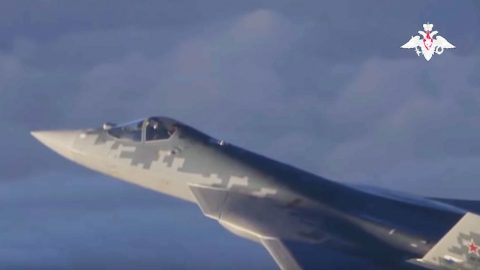 Ruskies Just Launched The Plane That's To Rival The F-35 – Here's The First Video | Frontline Videos