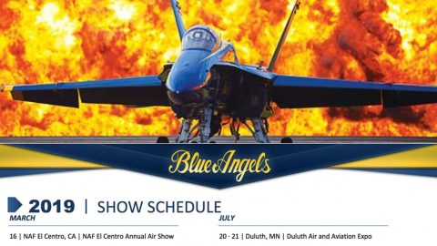 The Blue Angels Just Released Their 2019 Schedule – See When They'll Be Near You | Frontline Videos