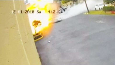 Security Camera Just Captured Small Plane Crashing Into Children's Therapy Center | Frontline Videos