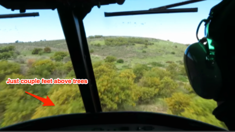 """FAST and SUPER LOW: Ride a """"Huey Combat Mission"""" At This Vacation Spot For Cheap   Frontline Videos"""