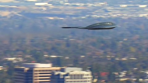 The Latest B-2 Spirit Clip From The Rose Bowl Is Absolutely Glorious | Frontline Videos