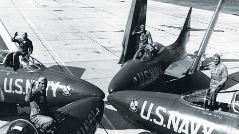 We Just Dug Up The Blue Angels In F9F-8 Cougars And You've Gotta See It | Frontline Videos