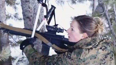 First Female Just Graduated From One Of The Toughest Courses Marines Have To Offer | Frontline Videos