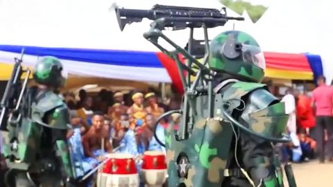 U.S. Beware! Ghana Just Unveiled Their Newest Military Technology | Frontline Videos